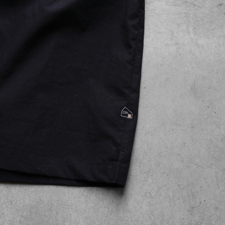 タイプライタークロス半袖リブプルオーバ(ブラック)【ユニセックス】610
