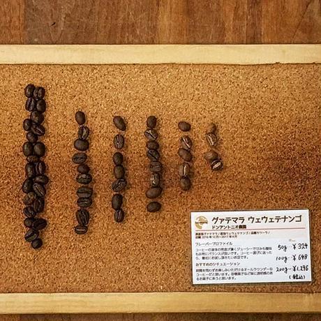 [中深煎り] グァテマラ ウェウェテナンゴ 100g