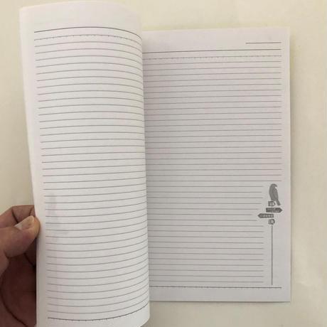 ホホホ座三条大橋店 オリジナルノート&マッチ3個セット