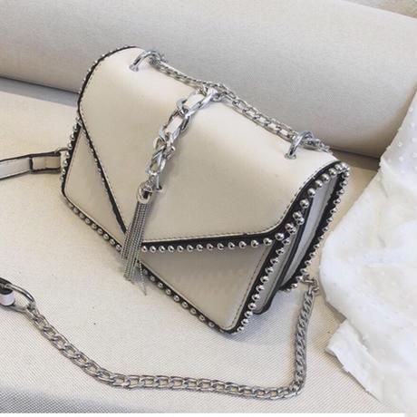 2Way Crossbody bag【white】
