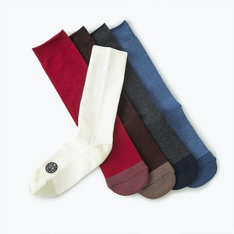 Comfor Toe Silk Smoky Blue S【コンフォルトウ / シルク /スモーキーブルー /Sサイズ】