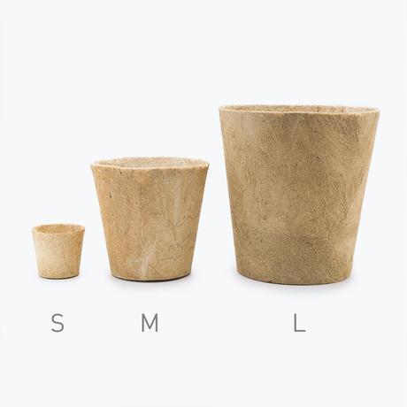 Earth Pot & Saucer    M size