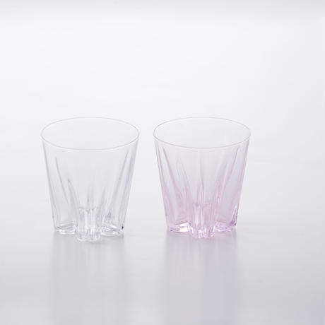 SAKURASAKU GLASS ROCK KOHAKU【さくらさくグラス ロック 紅白】