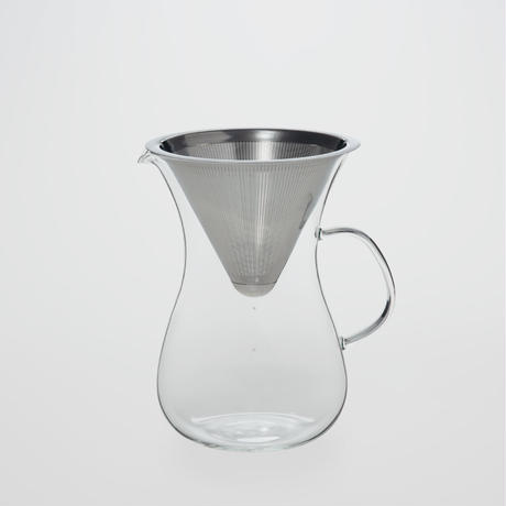 Heat-resistant Pour Over Coffee Percolator 680ml