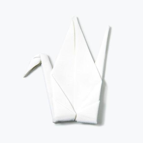 Peti Peto White Tsuru【プッチペット 白ツル】