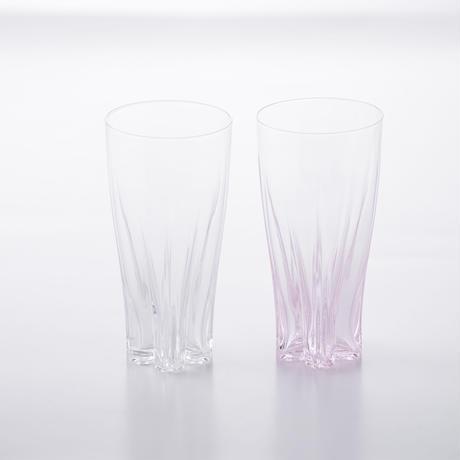 SAKURASAKU GLASS PILSNER KOHAKU【さくらさくグラスピルスナー紅白】