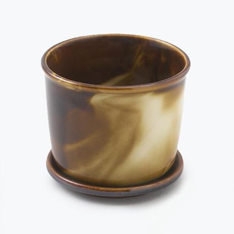 Mug Pot Marble Brown【マグポット マーブルブラウン】