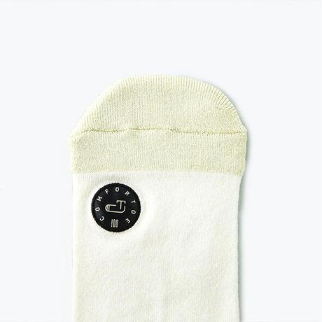 Comfor Toe Silk Milky White  M 【コンフォルトウ / シルク /ミルキーホワイト /Mサイズ】
