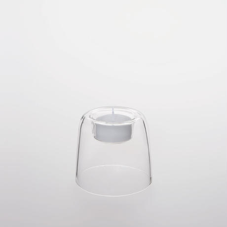 Heat-resistant Glass Candle Holder 70mm