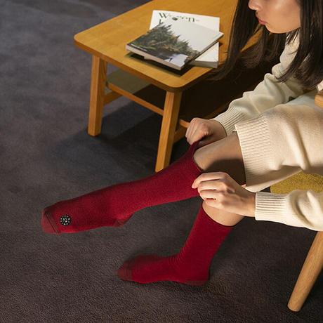 Comfor Toe Silk Winter Red  S 【コンフォルトウ / シルク /ウインターレッド /Sサイズ】