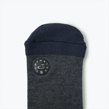 Comfor Toe Silk Dark Gray S【コンフォルトウ / シルク /ダークグレイ /Sサイズ】