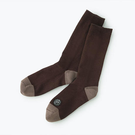 Comfor Toe Silk Chocolate Brown S【コンフォルトウ / シルク /チョコレートブラウン /Sサイズ】