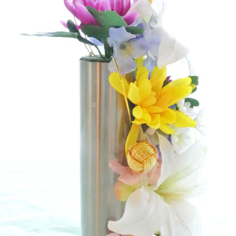 仏花☆蓄光百合