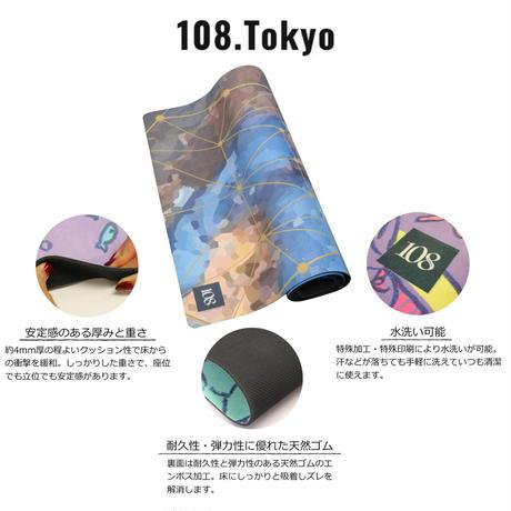 ヨガマット 【Blue Bambi】108original