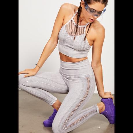 【SALE】Braided Air Legging /Vitage cool gray