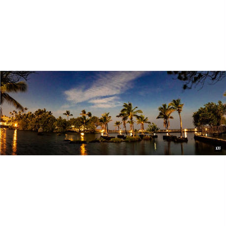 ヨガマット【Hawaii night】By DaisukeJourden