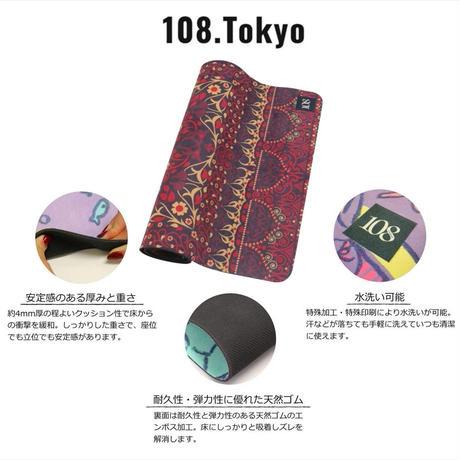ヨガマット  【ロイヤルレッド 】108original