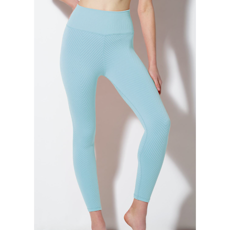 【SALE】Shayna Chevron Legging/ Cool Blue