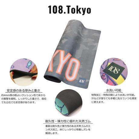 ヨガマット 【カモフラグレー】108original