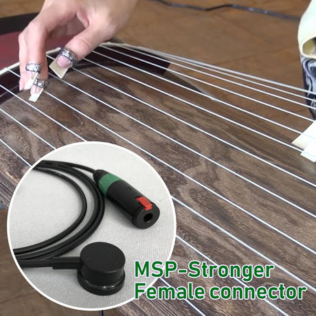 "MSP-Stronger pickup kit/Female jack (1/4"") connector"