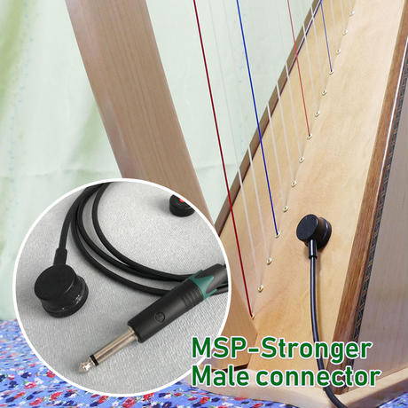 "MSP-Stronger pickup kit/Male plug (1/4"") connector"