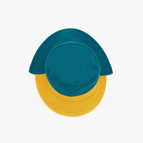 JW ANDERSON / ASYMMETRIC BUCKET HAT / GREEN x YELLOW