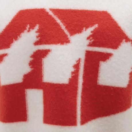 JW ANDERSON x David Wojnarowicz / Burning House Knit / WHITE x RED