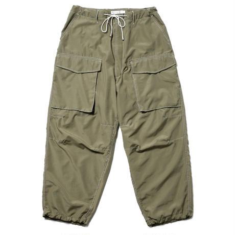 ROTOL / OVER PANTS - OLIVE