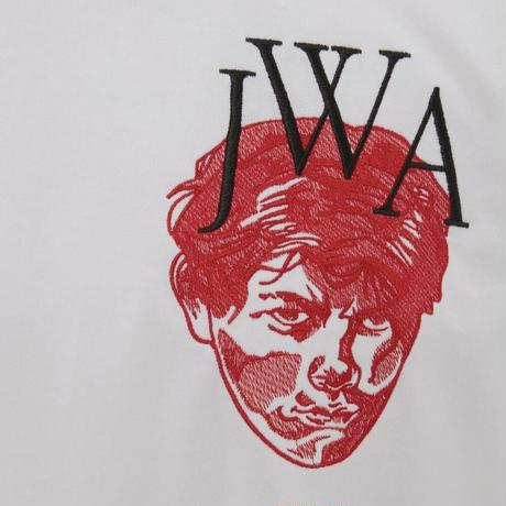 JW ANDERSON / EMBROIDERED FACE JWA T-SHIRT
