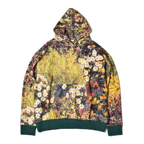 WATARU TOMINAGA / Hooded Sweatshirt / Garden Print
