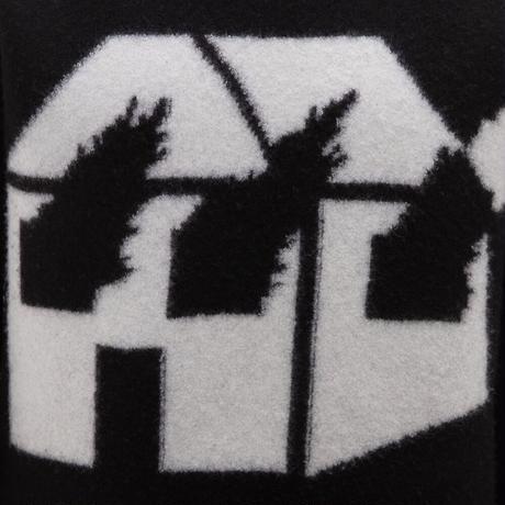 JW ANDERSON x David Wojnarowicz / Burning House Knit / BLACK x WHITE
