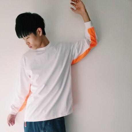 ROTOL / L/S SWITCH TEE-NEON