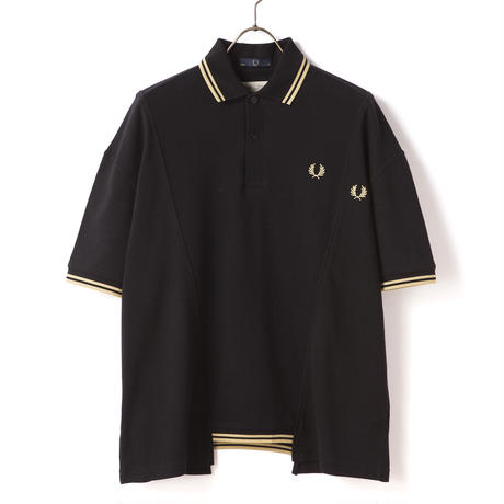 FRED PERRY x 77circa / TWIN TIPPED FRED PERRY SHIRT - BLACK