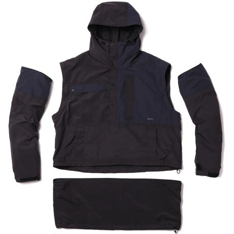 ROTOL / DISASSEMBLY ANORAK / BLACK