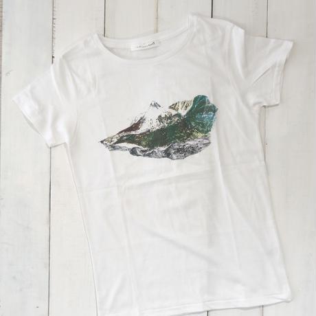 山想いTシャツ × 山巡りマルシェバッグ(黒)セット