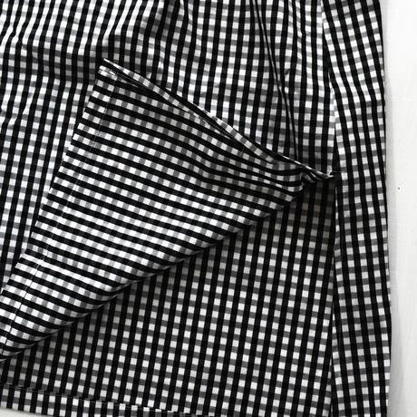 近所を旅するシャツワンピース(ブロックチェック)