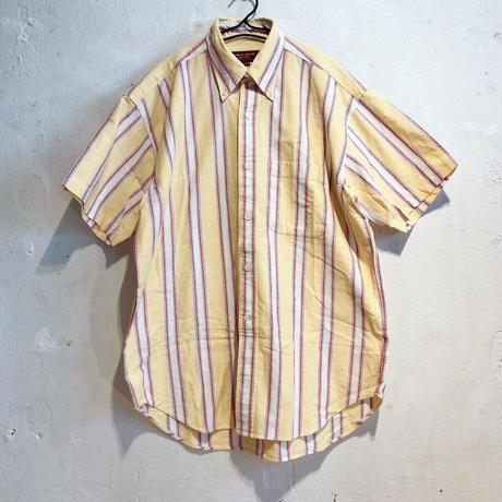 yellow stripe summer shirt