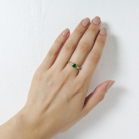 —One of a kind—Handsome Tourmaline Ring.