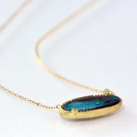 ---One of a kind---深海のNecklace-01
