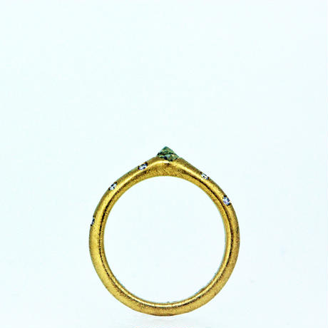 ---One of a kind---Un cut Diamond Ring