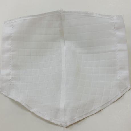 【セット商品】綾織 Mサイズ カーボンマスクカバー+インナーマスク  穴タイプ ※受注生産(7日営業日)