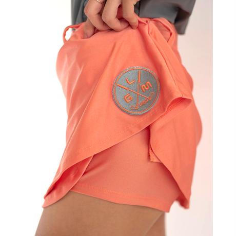 GOLF skirt Fit(shiny orange)