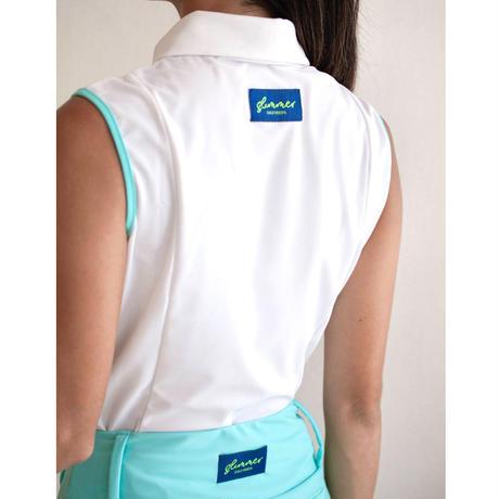 GOLF nosleeve shirt Fit(white)
