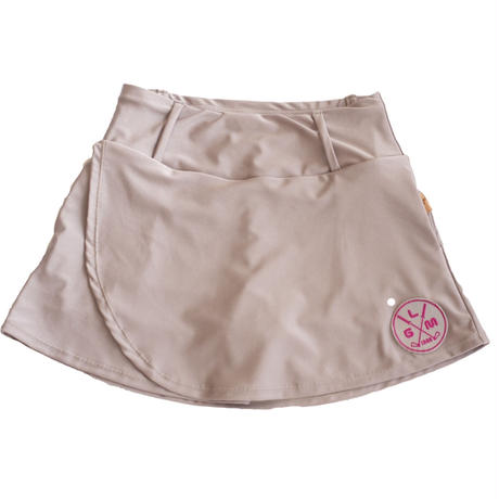 GOLF skirt Fit(shiny peach)