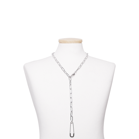 SAFETYPIN LONG CHAIN CHOKER