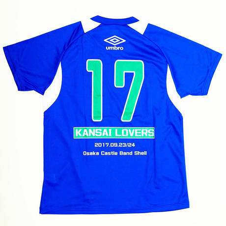 KANSAI LOVERS × UMBRO Tシャツ