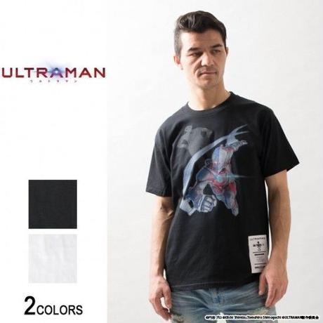 『ULTRAMAN』 ウルトラマン「来たぞ、我らのー」Tシャツ(男女兼用)【backside of tokyo】