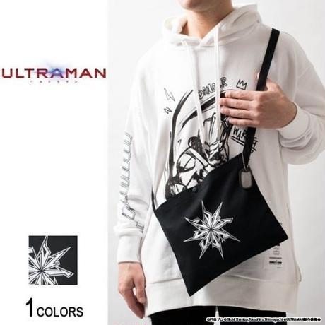 『ULTRAMAN』 ドッグタグ付き ウルトラマン スターデザイン サコッシュ(男女兼用)【backside of tokyo】