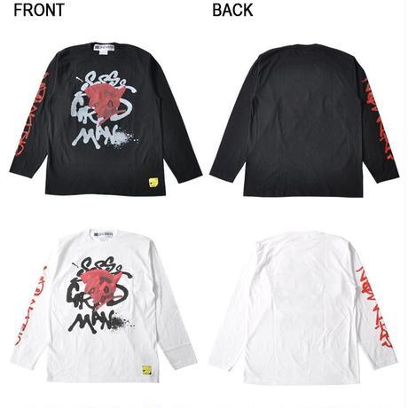 『SSSS.GRIDMAN』グリッドマン グラフティ ロングTシャツ【backside of tokyo】