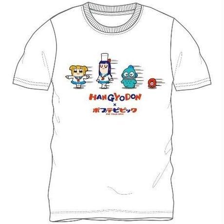 ハンギョドン 半袖Tシャツ【ポプテピピックxサンリオ】